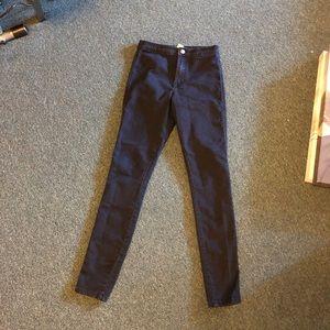 Forever 21 dark blue jeans jeggings